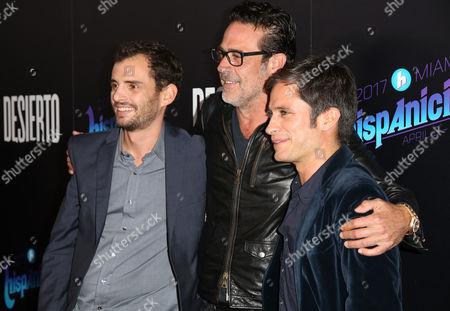 Jonas Cuaron, Jeffrey Dean Morgan and Gael García Bernal