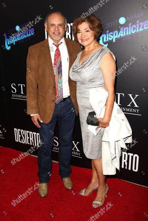Stock Photo of Enrique Castillo and Belarmina Hernandez