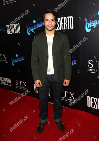 Editorial image of 'Desierto' film premiere, Arrivals, Los Angeles, USA - 11 Oct 2016