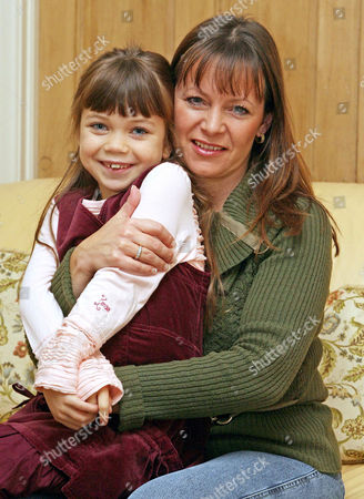 Adrianna Bertola aged seven with her mother Shana. She has been winning praise for her role as Gretel in the West End stage show 'The Sound of Music'.