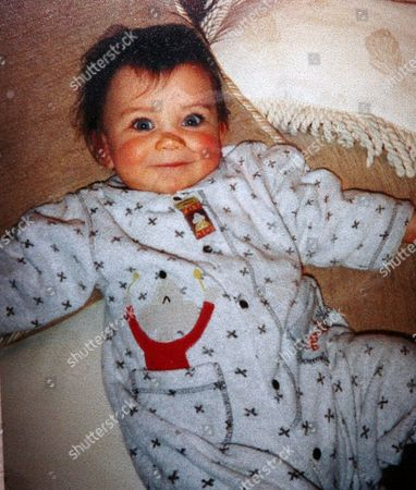 Adrianna Bertola at the age of sixteen months. She has been winning praise for her role as Gretel in the West End stage show 'The Sound of Music'.
