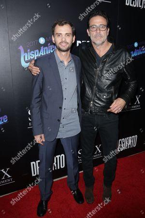 Stock Image of   Jonas Cuaron and Jeffrey Dean Morgan