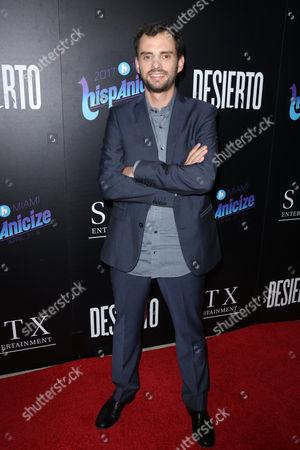 Stock Picture of Jonas Cuaron