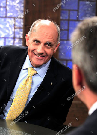 Stock Picture of Richard Carmona, Ted Simons Democrat Richard Carmona, left, talks with moderator Ted Simons, host and managing editor of Arizona Horizon at Eight, Arizona PBS, as they meet in studio prior to an Arizona U.S. Senate debate against Rep. Jeff Flake, R-Ariz., and Libertarian Marc Victor, in Phoenix. The two are vying for the seat left open by retiring Sen. Jon Kyl, R-Ariz
