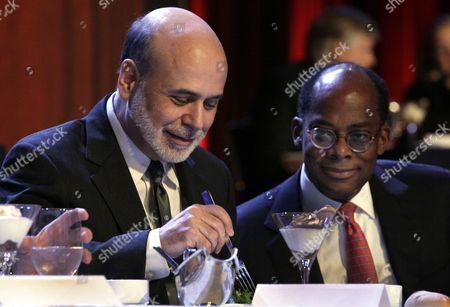 Editorial photo of Bernanke, New York, USA