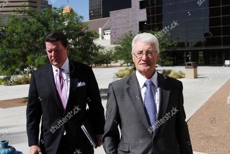 Christopher Tappin Christopher Tappin, right, and his lawyer Dan Cogdell, leave federal court in El Paso, Texas. The 66-year-old British businessman pleaded guilty to trying to export defense materials Thursday in a deal that would carry nearly three years in prison but could allow him to serve much of that time in his native United Kingdom