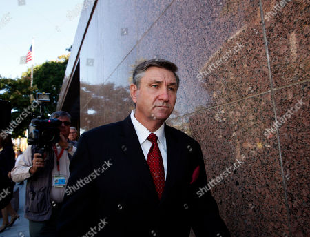 Jamie Spears Jamie Spears, father of singer Britney Spears, leaves the Stanley Mosk Courthouse in Los Angeles. Sam Lutfi, who is suing Spears' parents for defamation, testified Wednesday while they watched from across the courtroom