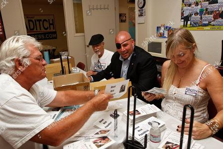 Editorial photo of Coming Home Veteran Candidates, La Mesa, USA