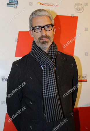"""Writer Mark Monroe arrives for the documentary film """"1"""", in Austin, Texas. The special presentation event helped to kick off the inaugural 2012 Formula 1 United States Grand Prix weekend in Austin. The race is scheduled for Sunday"""