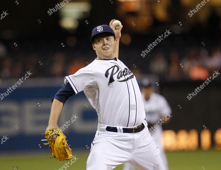 Andrew Werner San Diego Padres pitcher Andrew Werner pitches to the San Francisco Giants during the first inning of a baseball game in San Diego