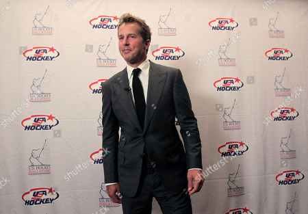Mike Modano Hockey great Mike Modano smiles as he arrives to speak to reporters before the U.S. Hockey Hall of Fame class of 2012 induction dinner in Dallas
