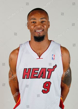 Rashard Lewis Miami Heat forward Rashard Lewis poses for a photo during the Heat's Media Day, in Miami