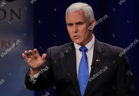 Mike Pence Indiana gubernatorial candidate Republican Mike Pence makes a point as he participates in a debate with Libertarian Rupert Boneham and Democrat John Gregg in Fort Wayne, Ind