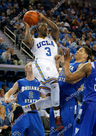 Editorial image of Indiana St UCLA Basketball, Los Angeles, USA