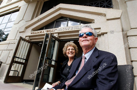 """Billy McCoy, Edith McCoy Former Speaker of the Mississippi House of Representatives William """"Billy"""" McCoy of Rienzi, right, sits with wife Edith prior to being honored with the dedication of the Mississippi Department of Transportation headquarters in downtown Jackson, Miss., as the William J. """"Billy"""" McCoy Building, . The Democrat McCoy served in the House from January 1980 until January 2012 and was the chamber's presiding officer for the final eight years of his career. He was instrumental in passing a major highway program in 1987"""