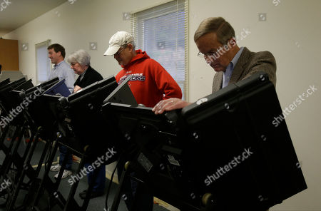 Todd Akin Missouri Senate candidate, Rep. Todd Akin, R-Mo., right, votes at his polling place, Star Bridge Christian Center, in Wildwood, Mo. Akin is running against incumbent Sen. Claire McCaskill, D-Mo
