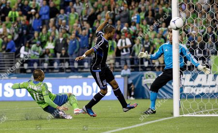 Editorial picture of MLS Earthquakes Sounders Soccer, Seattle, USA