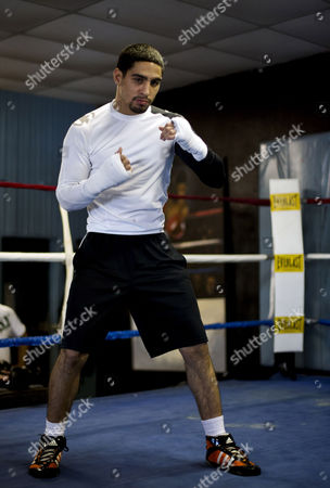 Danny Garcia Boxing champion Danny Garcia works out in Philadelphia. Garcia is slated to defend his WBC and WBA junior welterweight titles against Erik Morales at the first boxing event at Brooklyn's new Barclays Center arena on Saturday, Oct. 20