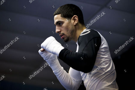 Danny Garcia Super lightweight World Boxing champion Danny Garcia, works out with his father and trainer Angel Garcia in Philadelphia. Garcia is slated to defend his WBC and WBA junior welterweight titles against Erik Morales at the first boxing event at Brooklyn's new Barclays Center arena on Saturday, Oct. 20