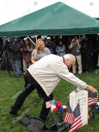 Editorial photo of Murphy Memorial, Calverton, USA