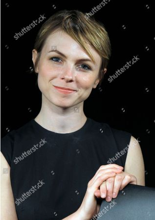Texan singer-songwriter Kat Edmonson poses for a portrait at the Associated Press office in Los Angeles