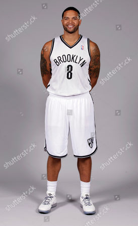 Deron Williams Deron Williams poses for photos during Brooklyn Nets basketball media day, in the Brooklyn borough of New York
