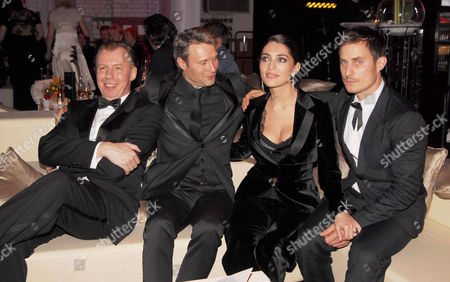 Ludger Pistor, Mads Mikkelsen, Caterina Murino and Clemens Schick