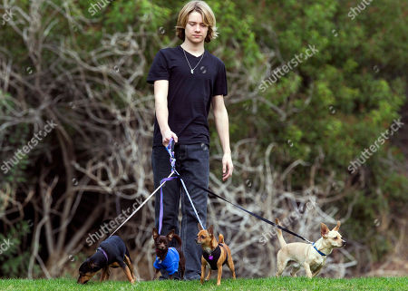 Lou Wegner Lou Wegner, the founder of Kids Against Animal Cruelty, poses for a photo with his rescued his dogs, from left, Kippy, Pearl, Draco and Henry in Burbank, Calif. Lou, a 16-year-old actor and singer from Columbus, Ohio, started Kids Against Animal Cruelty when he was 14. The organization, which uses social networking to encourage adoptions at high-kill animal shelters, has helped 20,000 pets escape euthanasia in two years