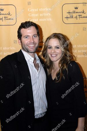Eion Bailey and Alicia Silverstone