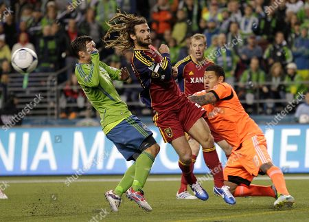Editorial photo of Real Salt Lake Sounders MLS Soccer, Seattle, USA