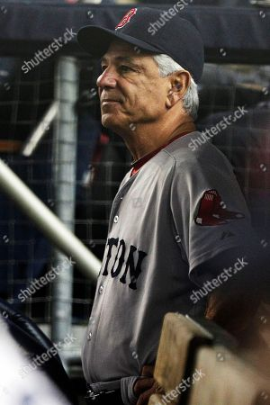 Bobby Valentine Boston Red Sox manager Bobby Valentine watches his team play during the fourth inning of a baseball game against the New York Yankees, in New York