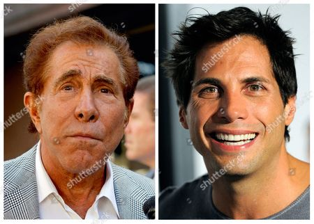 """S shows casino mogul Steve Wynn, left, in Los Angeles, and """"Girls Gone Wild"""" founder Joe Francis, in Los Angeles. A judge has cut casino mogul Steve Wynn's slander verdict against """"Girls Gone Wild"""" founder Joe Francis by $21 million, more than half of the original $40 million jury verdict. A jury found that Francis slandered Wynn when he claimed the casino mogul threatened to kill him and bury him in the desert"""