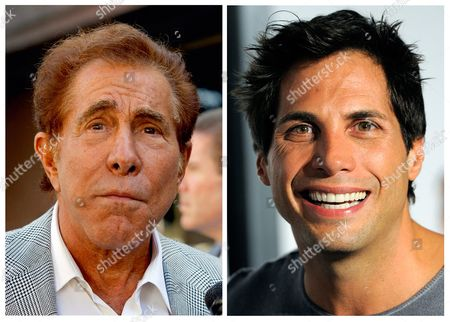 """S shows casino mogul Steve Wynn, left, in Los Angeles, and """"Girls Gone Wild"""" founder Joe Francis, in Los Angeles. A jury says Francis slandered Wynn when he claimed the casino mogul threatened to kill him and bury him in the desert. The Los Angeles jury, awarded Wynn $20 million"""