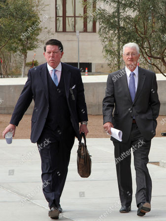 Stock Image of Christopher Tappin British Businessman Christopher Tappin, right, and his lawyer Dan Cogdell, arrive at Federal court in El Paso, Texas, . U.S. District Judge David Briones sentenced Tappin Wednesday to two years and nine months in prison, and said he would recommend that the Department of Justice approve any request by Tappin to be transferred to the United Kingdom. Tappin pleaded guilty in November to trying to buy missile parts and resell them to Iran