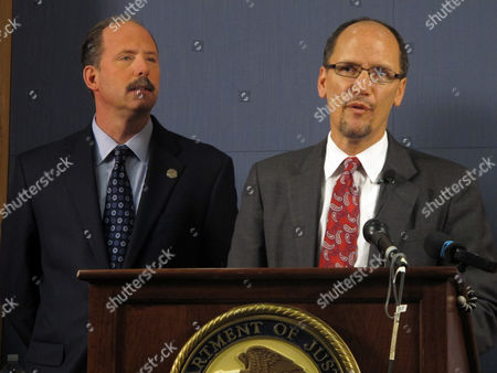 Thomas E. Perez, Richard Berry Thomas E. Perez, Assistant Attorney General for the Civil Rights Division is shown with Albuquerque Mayor Richard Berry, left, at a press conference, in Albuquerque, N.M. announcing a federal investigation into the Albuquerque Police Department. The U.S. Justice Department says it will conduct a thorough investigation of the Albuquerque Police Department after a string of officer-involved shootings and a number of high-profile abuse cases alleging the use of excessive and deadly force