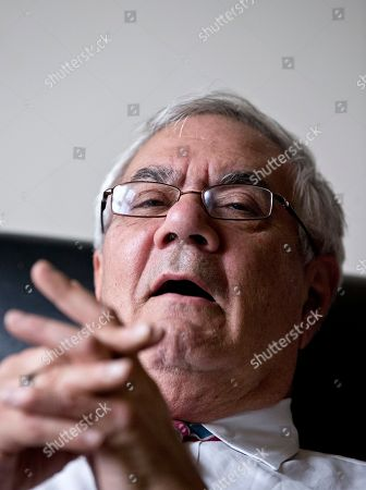 Barney Frank Shows Rep. Barney Frank, D-Mass., the nation's most prominent gay politicians, speaks about his impending retirement during an interview with The Associated Press on Capitol Hill in Washington