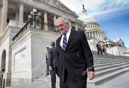 Barney Frank Retiring Rep. Barney Frank, D-Mass., walks down the steps of the House of Representatives at the Capitol in Washington