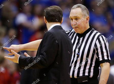 Editorial image of Baylor Kansas Basketball, Lawrence, USA
