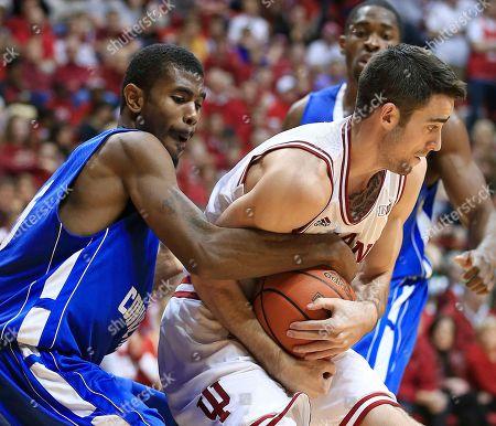 Editorial picture of CCSU Indiana Basketball, Bloomington, USA