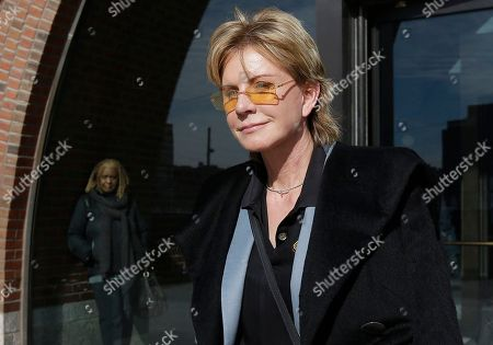 Patricia Cornwell Author Patricia Cornwell leaves federal court in Boston, after she took the stand in her lawsuit against her former financial management company. Cornwell claims that the firm and a former executive cost her millions of dollars in losses or unaccounted revenue during their four-year relationship