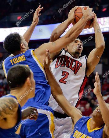 Editorial photo of CSU Bakersfield UNLV Basketball, Las Vegas, USA
