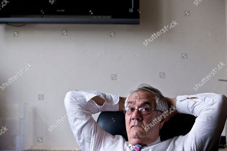 Barney Frank Rep. Barney Frank, D-Mass., the nation's most prominent gay politician, leans back in his chair as he talks about his impending retirement during an interview with The Associated Press, on Capitol Hill in Washington