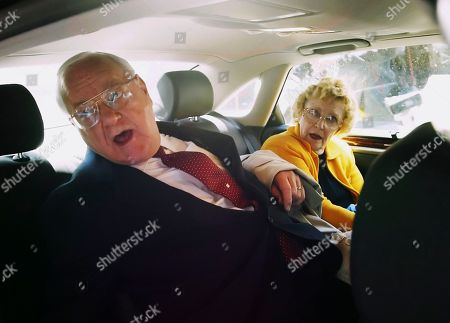 George Ryan. Lura Lynn Ryan Former Illinois Gov. George Ryan sits in a car with his wife, Lura Lynn, after he was convicted of racketeering and fraud charges at the federal courthouse in Chicago. Ryan, who reported to prison in November 2007, is scheduled to be released from a Terre Haute, Ind., prison, and enter a halfway house in Chicago. Both his wife and a brother died while he was in prison