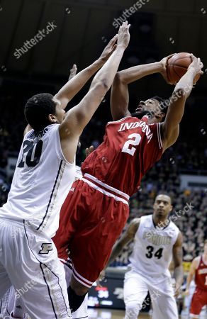 Christian Watford, A.J. Hammons Indiana forward Christian Watford, right, shoots over Indiana guard Taylor Wayer during the first half of an NCAA college basketball game in West Lafayette, Ind