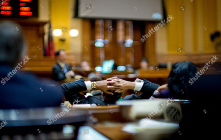 Editorial photo of Medicaid Tax Senate Vote, Atlanta, USA