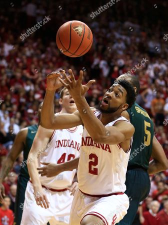 Christian Watford Indiana's Christian Watford (2) grabs a rebound during the first half of an NCAA college basketball game against the Michigan State, in Bloomington, Ind