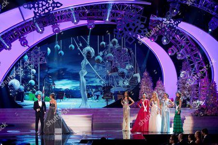 Editorial image of Miss Universe 2012, Las Vegas, USA