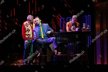 Zeljko Lucic, Stefan Kocan Zeljko Lucic, left, performs the title roll alongside Stefan Kocan performing as Sparafucile during the final dress rehearsal of Giuseppe Verdi's Rigoletto at the Metropolitan Opera in New York