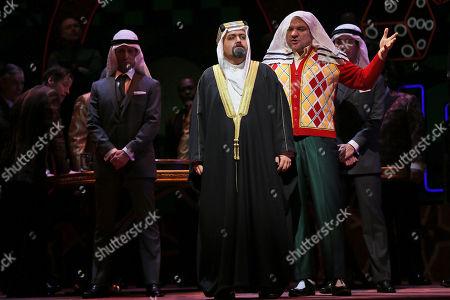 Zeljko Lucic, Robert Pomakov Zeljko Lucic, right, performs the title roll alongside Robert Pomakov performing as Monterone during the final dress rehearsal of Giuseppe Verdi's Rigoletto at the Metropolitan Opera in New York
