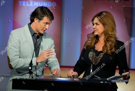 Juan Soler, Maria Celeste Juan Soler, left, and Maria Celeste announce the finalists in Premios Billboard de la Musica Latina 2013 during a TV show in Miami, . After leading the 2012 list of finalists for the Billboard Latin Music Awards with 16 finalist nods, Don Omar returns in 2013 with 18 nods, including Artist of the Year; Social Artist of the Year and Streaming Artist of the Year. Following with 12 nods is bachata star Romeo Santos, while urban duo Wisin & Yandel and the late Jenni Rivera are tied with 11 nods each